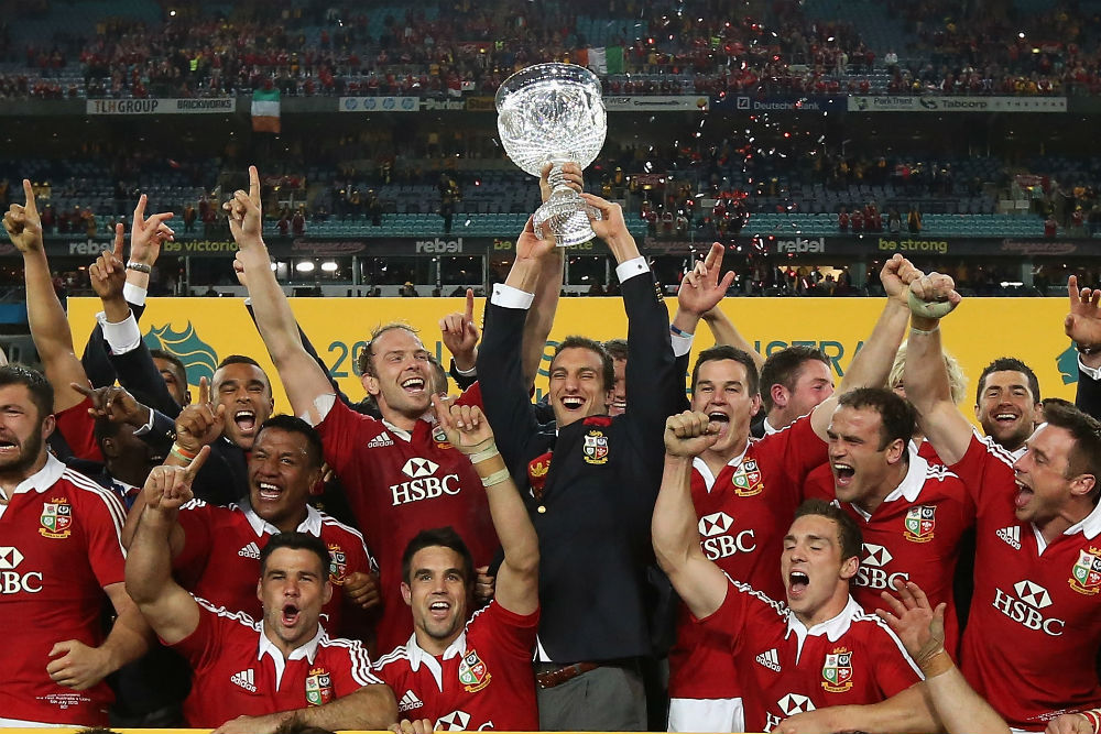 The British and Irish Lions clinched the 2013 decider. Photo: Getty Images