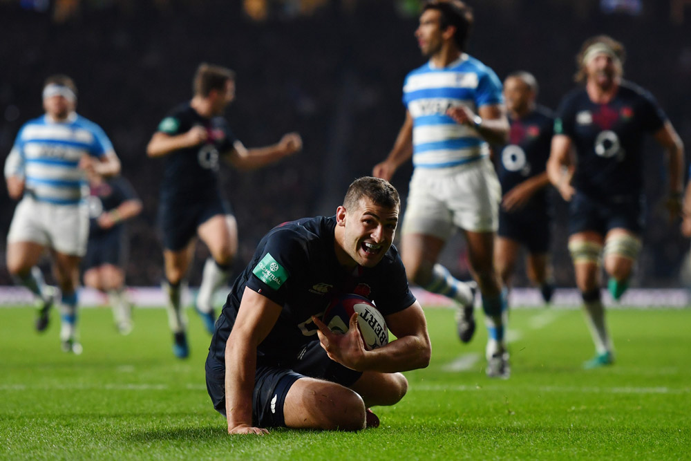 Jonny May is a great finisher, but his scrummaging leaves something to be desired. Photo: Getty Images