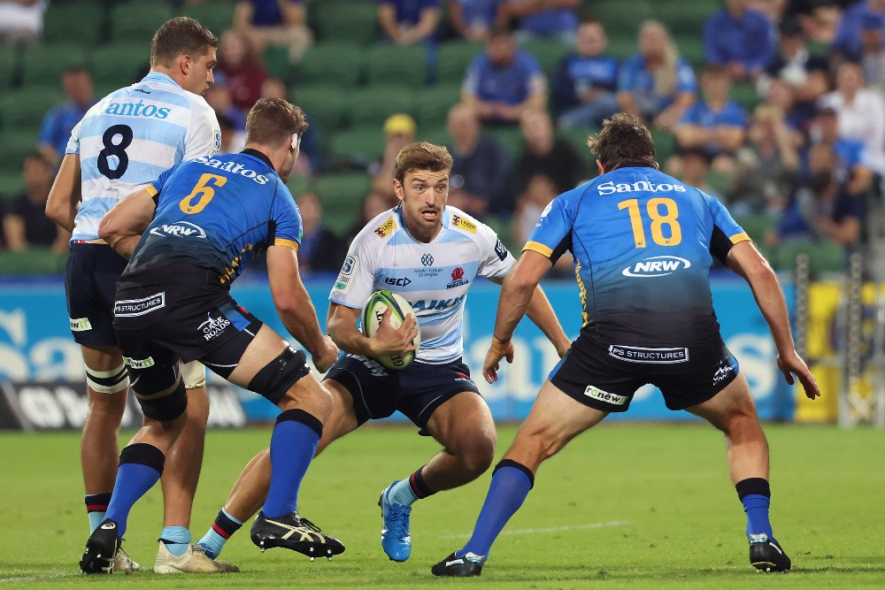 James Ramm in action for the NSW Waratahs. Photo: Getty Images