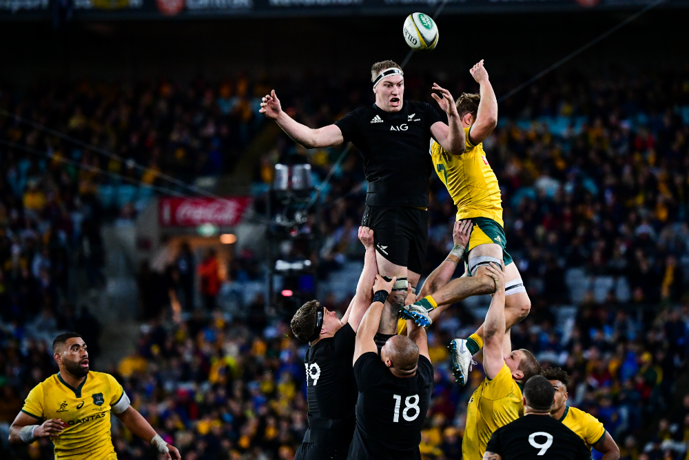 The All Blacks had the Wallabies' number at lineout time. Photo: RUGBY.com.au/Stuart Walmsley