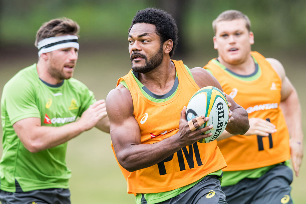 Henry Speight hasn't played for the Wallabies since the Rugby World Cup. Photo: ARU Media/Stu Walmsley