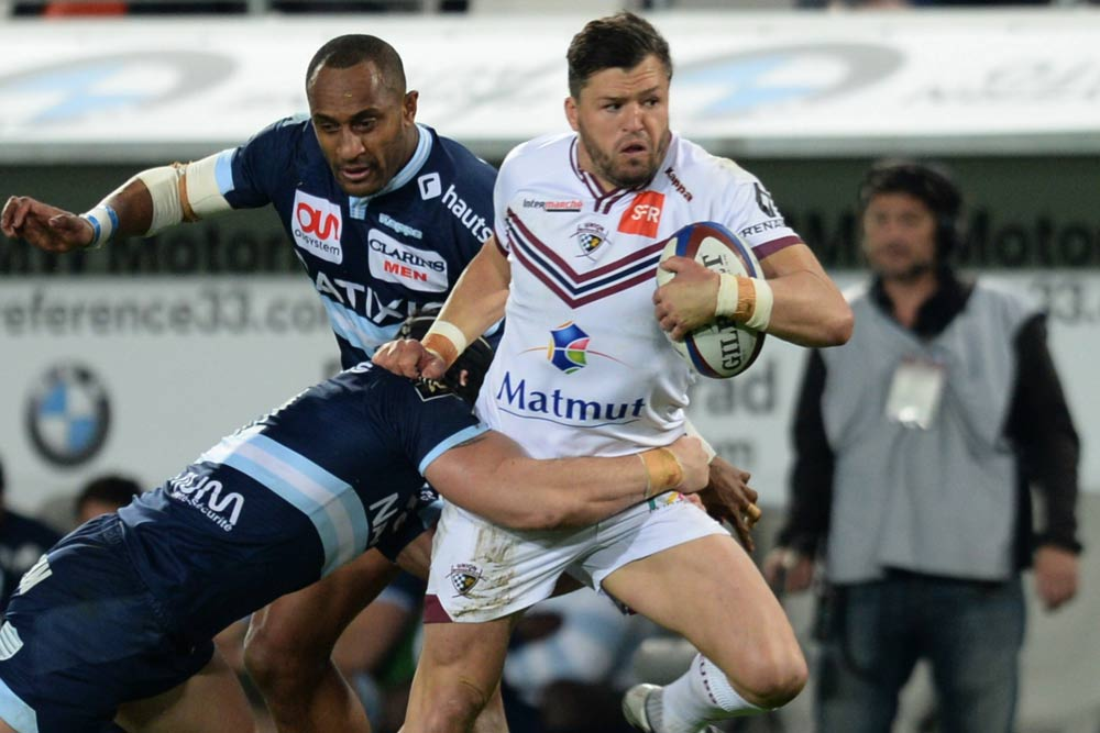 Adam Ashley-Cooper will be in action for Bordeaux. Photo: AFP