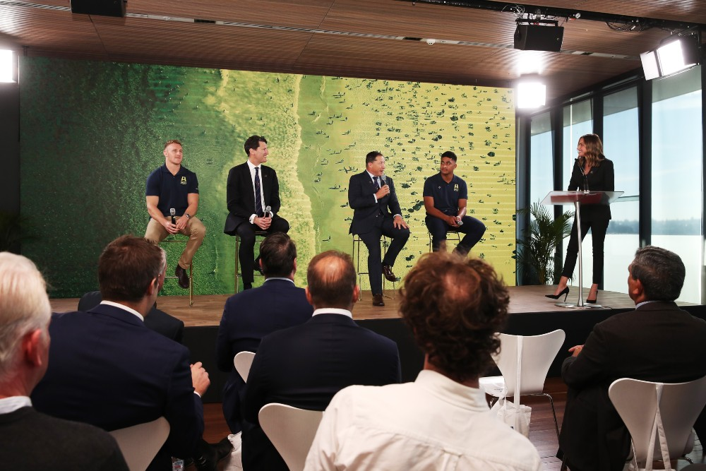 John Eales is amongst a host of former Wallabies throwing their support behind the RWC 2027 bid. Photo: Getty Images