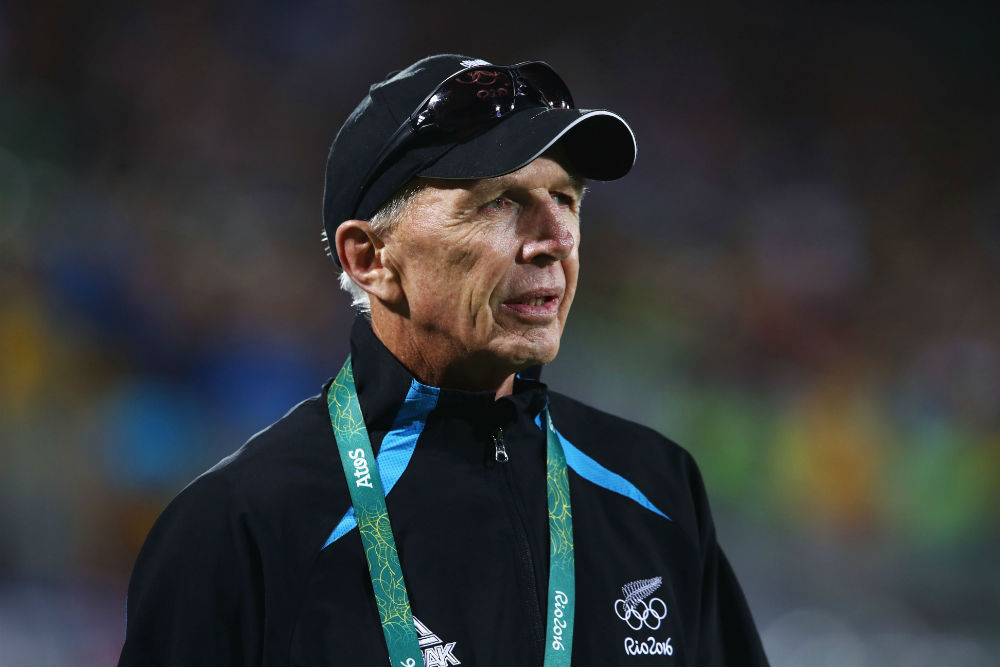Sir Gordon Tietjens has coached the New Zealand Sevens for 23 years. Photo: Getty Images