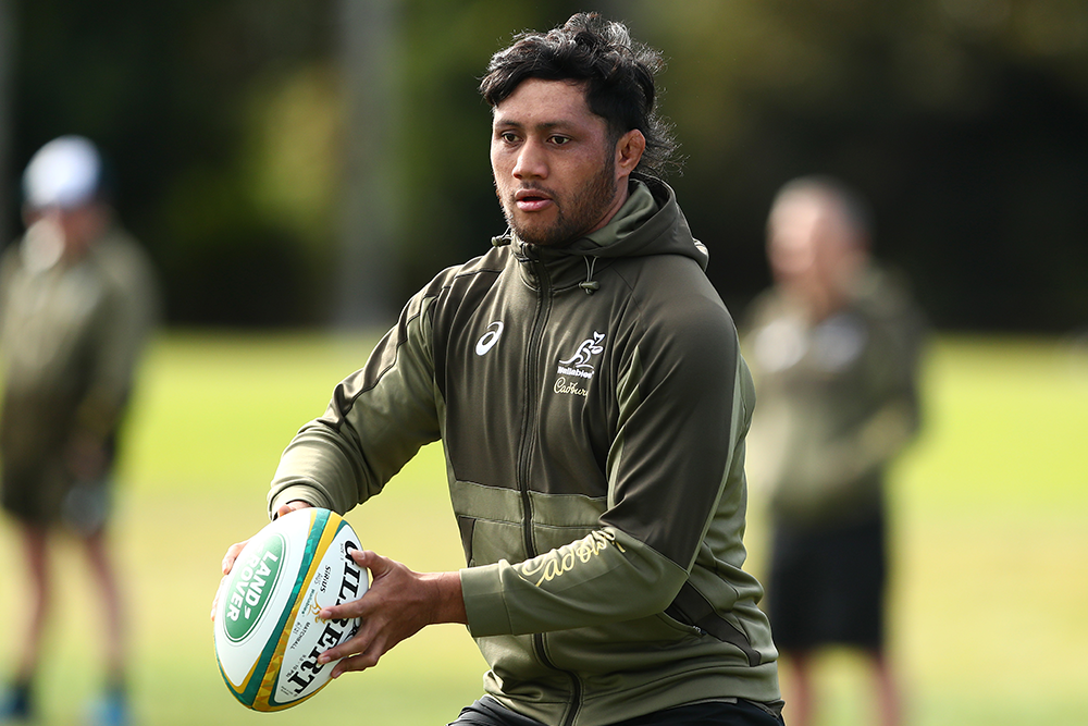 Rob Leota has re-committed to the Rebels and the Wallabies until the end of 2023. Photo: Getty Images
