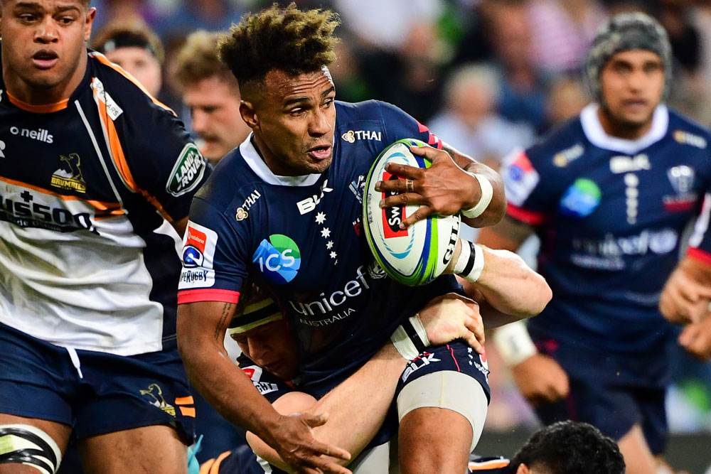 Will Genia was a standout for the Rebels. Photo: RUGBY.com.au/Stuart Walmsley