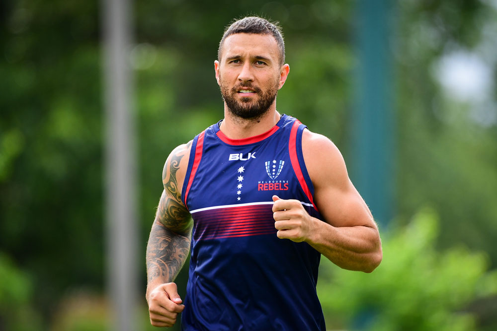 Quade Cooper's World Cup door might not yet be shut. Photo: RUGBY.com.au/Stuart Walmsley
