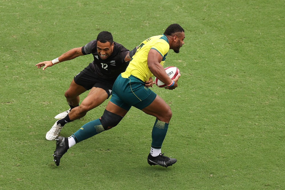 New Zealand pulled off the second-half comeback to defeat Australia. Photo: Getty Images
