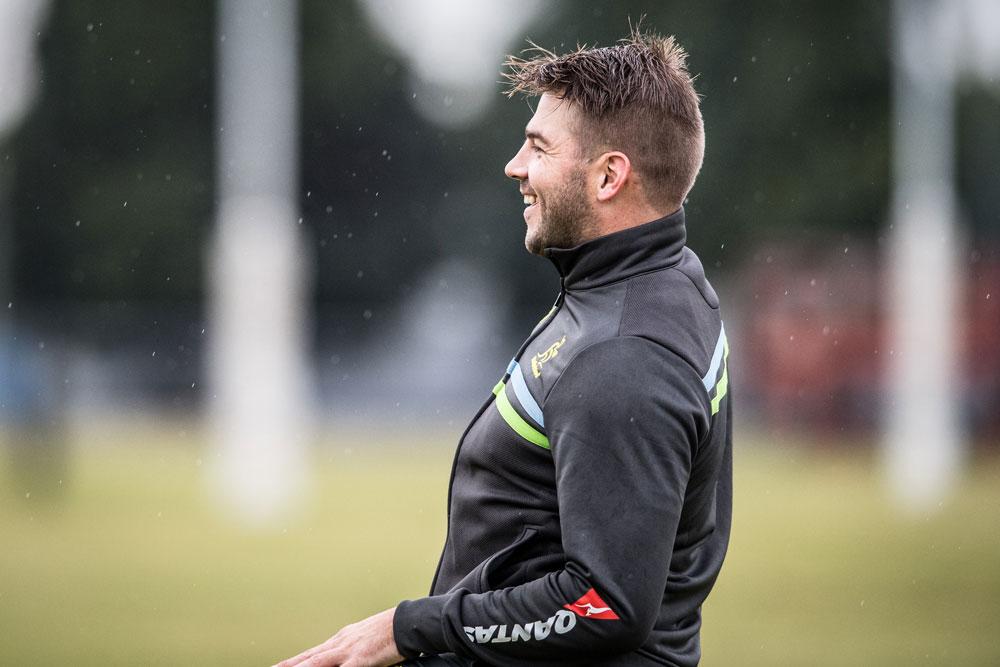 Drew Mitchell is working his way back from injury. Photo: ARU Media/Stu Walmsley