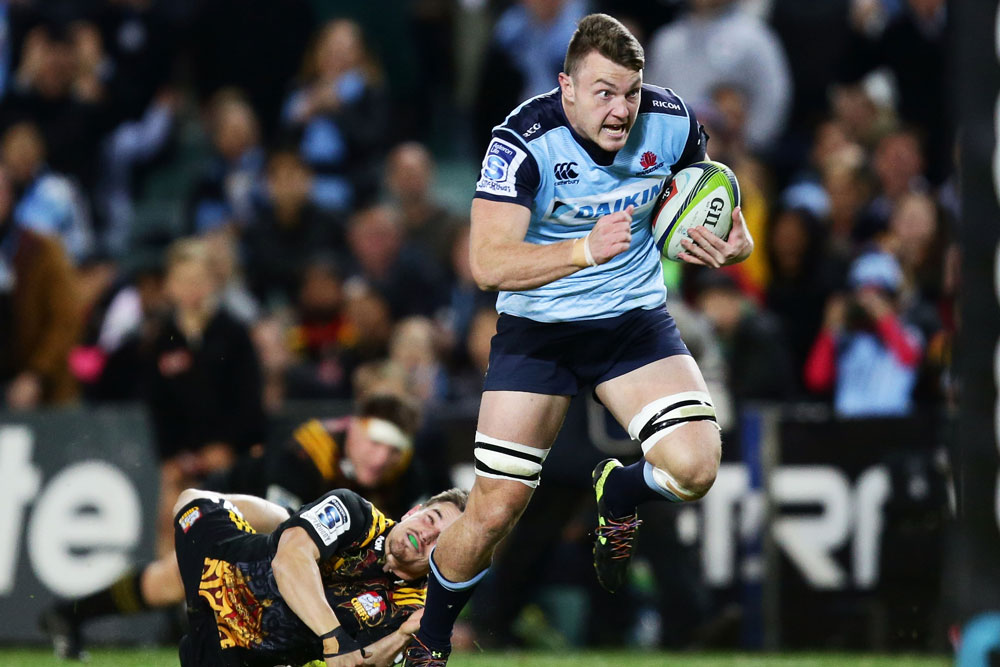 Jack Dempsey will depart the Waratahs for the Glasgow Warriors at the end of the 2021 Season. Photo: Getty Images