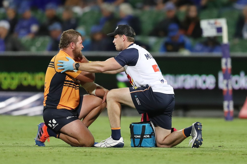 The Brumbies will be looking to win it for James Slipper after he was ruled out with injury. Photo: Getty Images