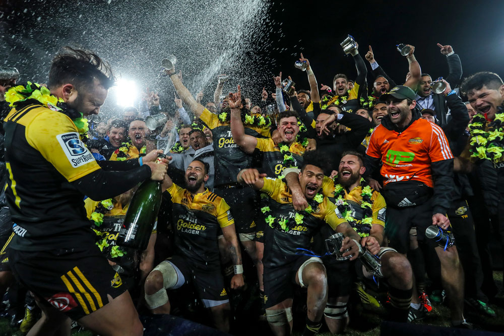 The Hurricanes are the reigning Super Rugby champions. Photo: Getty Images