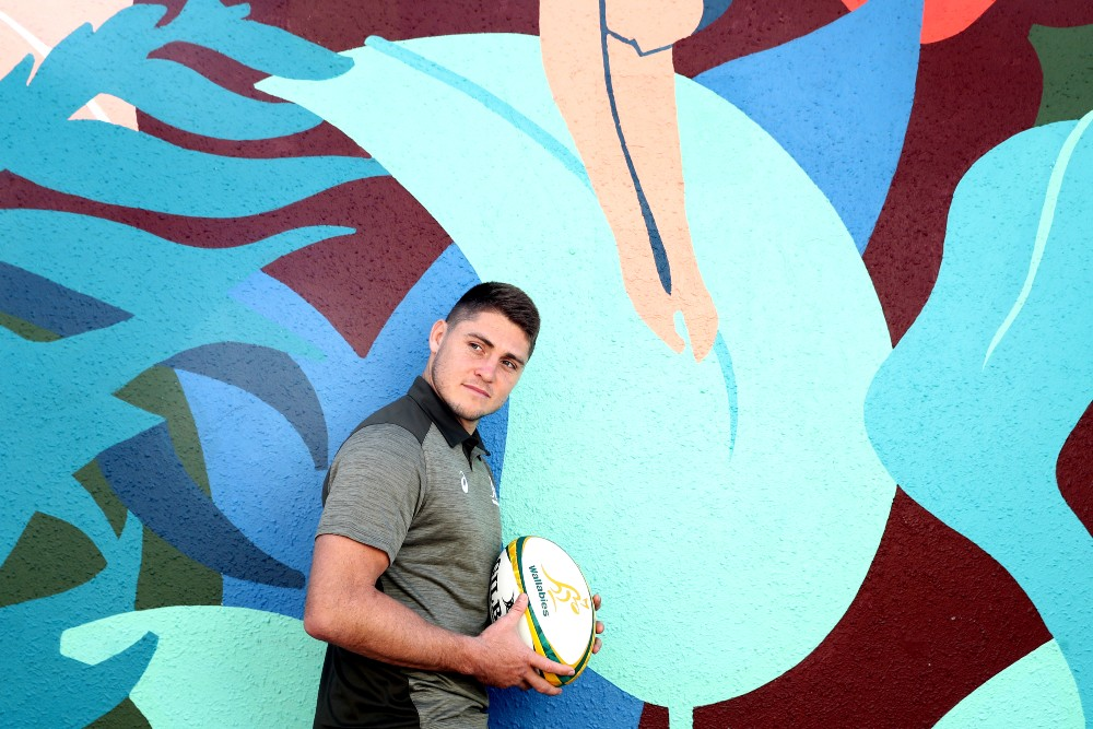 James O'Connor poses during Wallabies camp. Photo: Getty Images