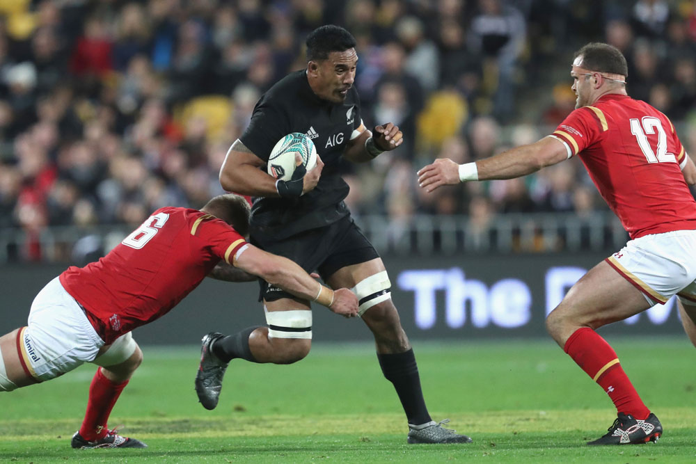 Jerome Kaino played two Tests in June. Photo: Getty Images
