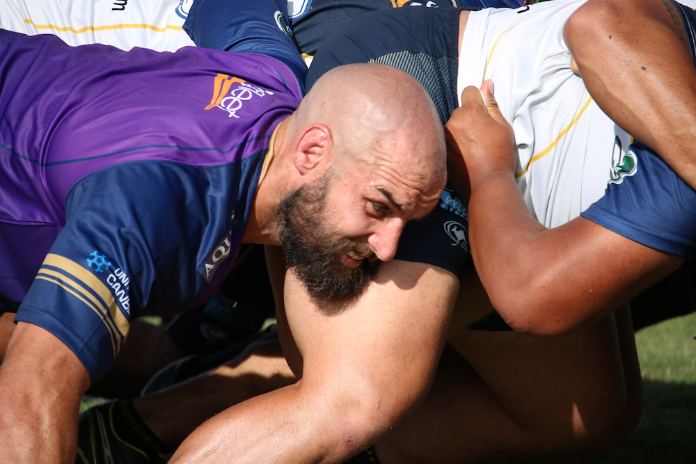 Fardy is aiming for a big year. Photo: ACT Brumbies Media Unit.