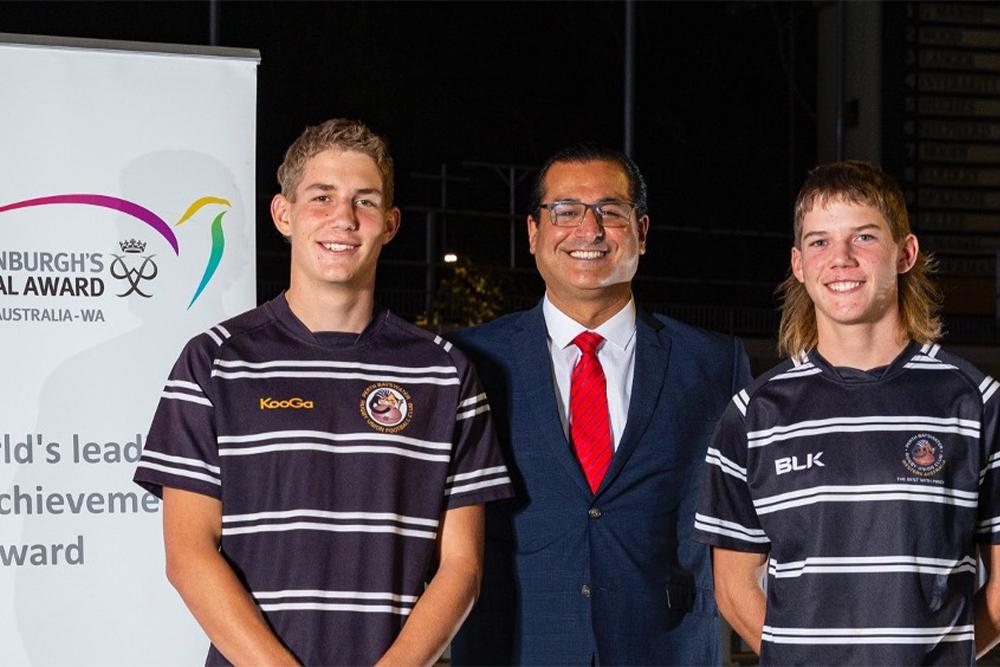 Perth Bayswater players awarded Duke of Edinburgh award