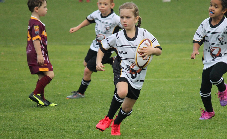 WA Junior Rugby Girl