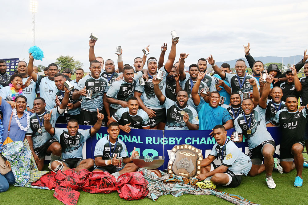 Fiji Drua 2018 NRC Winners. Photo: Rugby AU Media