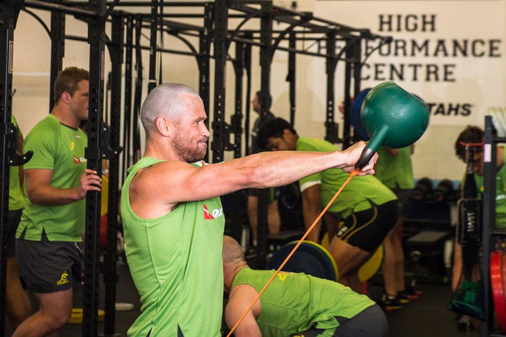 Matt Giteau is confident he is ready to play. Photo: ARU Media/Stu Walmsley