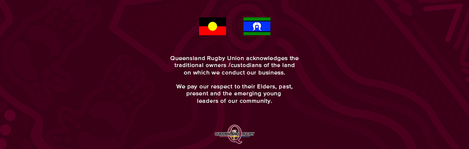 QLD Rugby Acknowledgement of Country