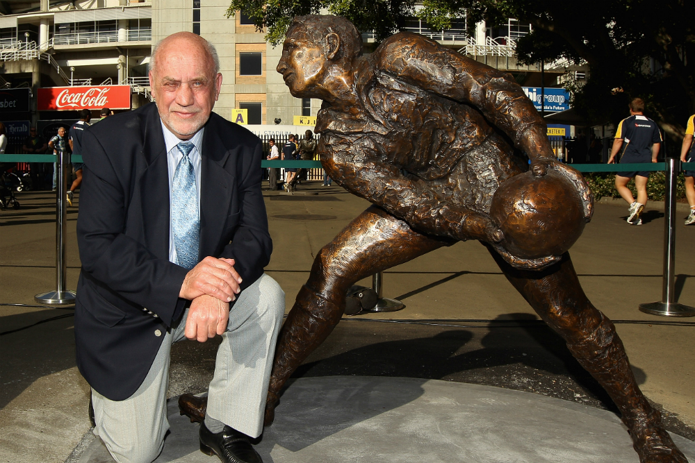 Ken Catchpole passed away on Thursday. Photo: Getty Images