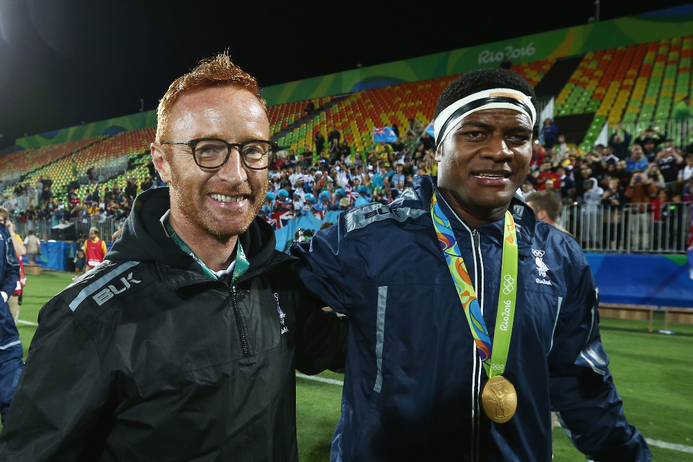 Ben Ryan's stint with Fiji was supremely successful. Photo: Getty Images