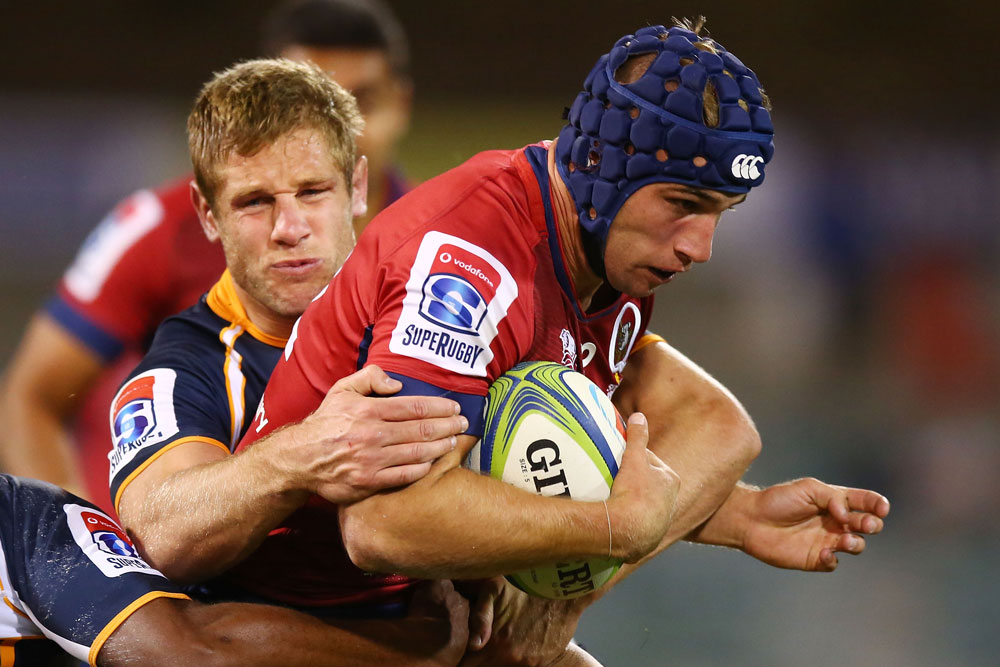 Hamish Stewart is staying with the Reds while the Junior Wallabies go to France. Photo: Getty Images