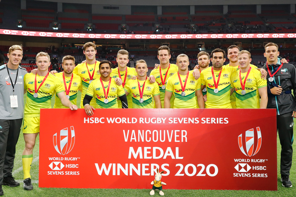 The Aussie Sevens won the silver in Vancouver. Photo: Getty Images