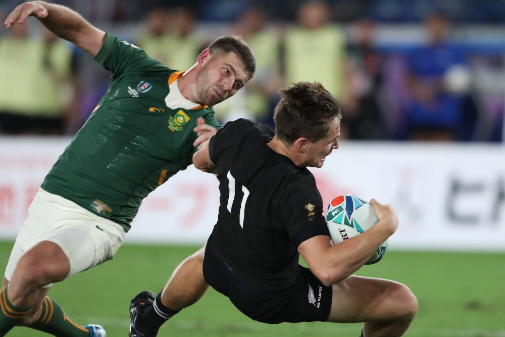 The All Blacks are wary of South Africa coming out to 'bully' them this week. Photo: Getty Images