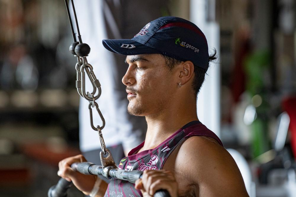 Jordan Petaia is on the comeback trail. Photo: QRU Media/Brendan Hertel