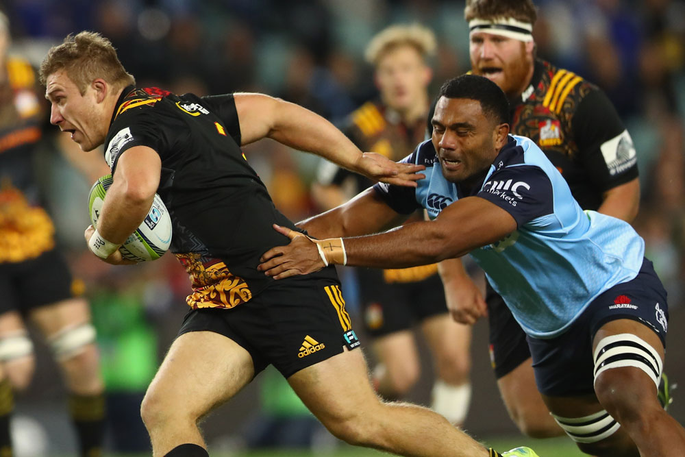 Wycliff Palu was injured in the Wallabies series. Photo: Getty Images