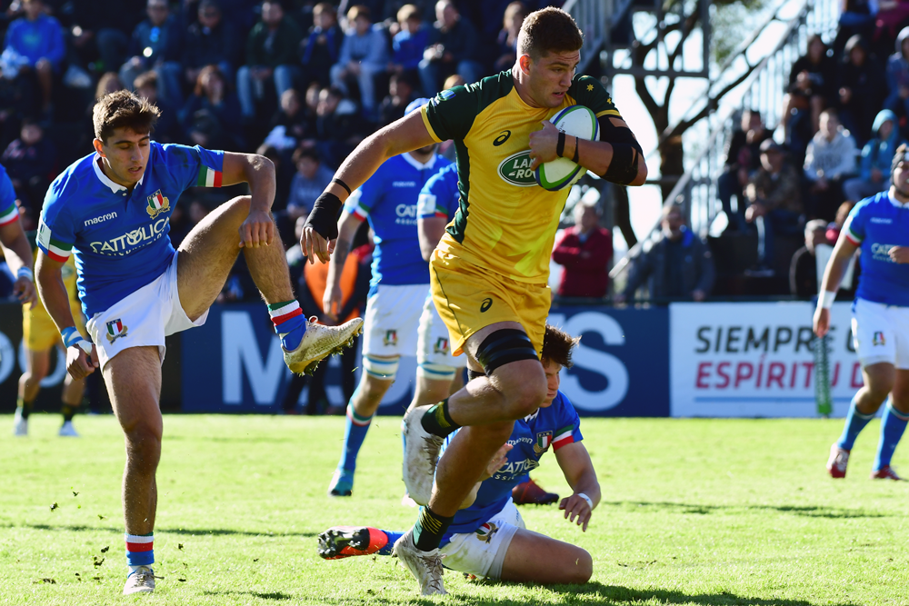Will Harris was a star for the Junior Wallabies this season. Photo: Getty Images