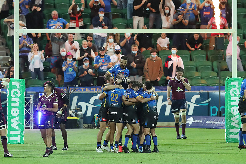 The Western Force are looking to make an impact as they welcome back their NZ rivals. Photo: Getty Images