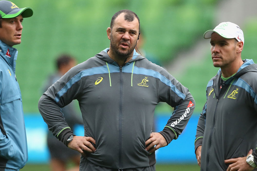 Michael Cheika puts trust in his assistants. Photo: Getty Images