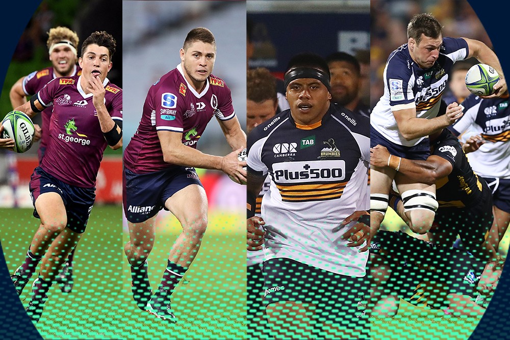 All the team news for the Harvey Norman Super Rugby AU Final. Photos: Getty Images