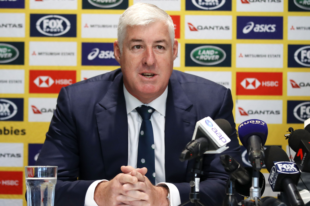 Cameron Clyne is stepping down as RA chairman. Photo: Getty Images