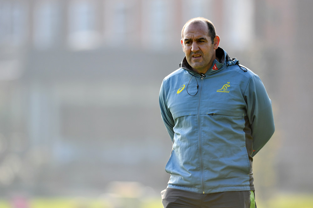 Mario Ledesma wants Australia to love the scrum. Photo: Getty Images