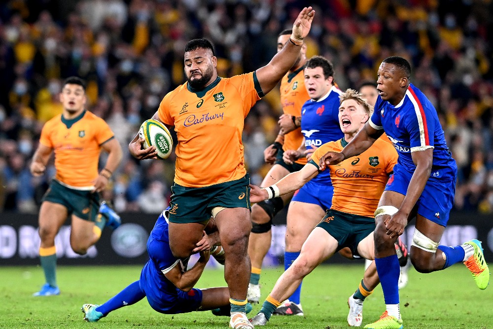 Taniela Tupou comes into the starting side for the second Test. Photo: Getty Images