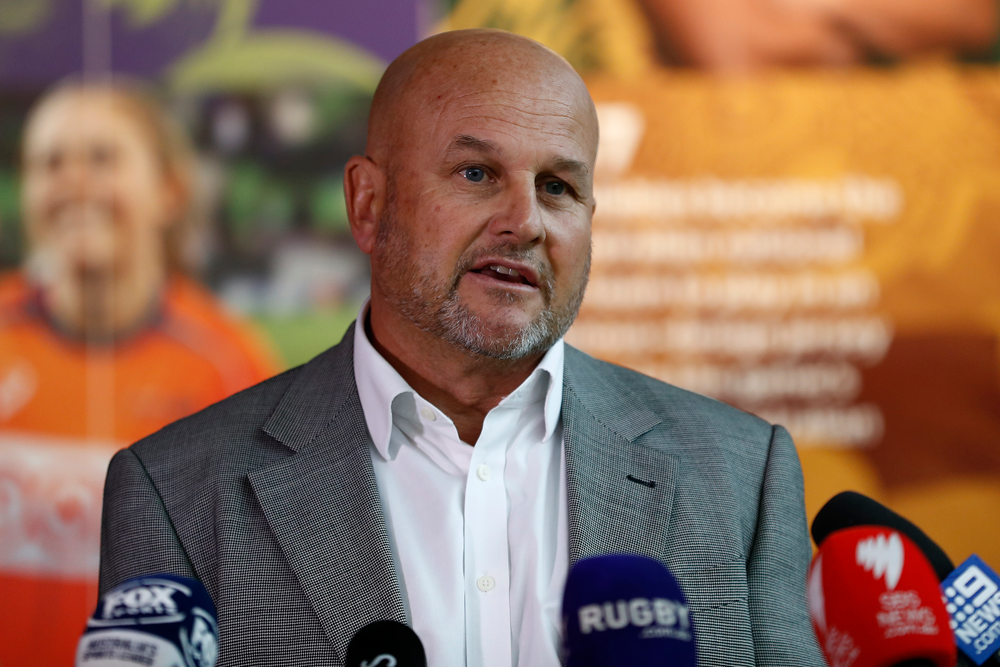 """Rugby Australia CEO Rob Clarke says the organisation is submiting the """"largest and most comprehensive rugby rights"""" ever offered in Australia. Photo: Getty Images"""