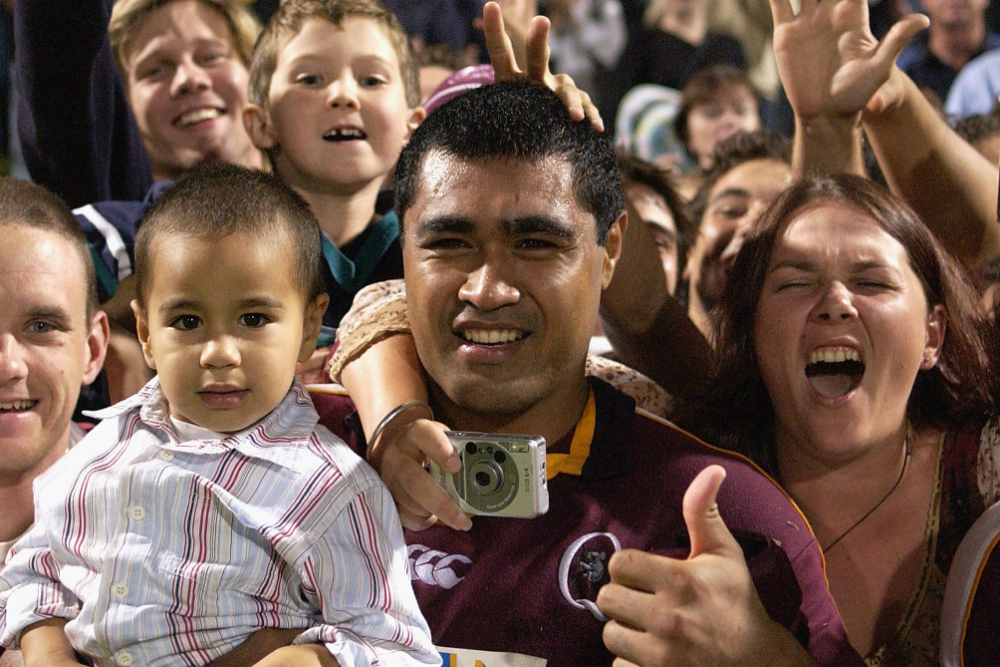 Kefu played 103 times for Queensland Reds from 1995 and 2003. Photo: Getty Images