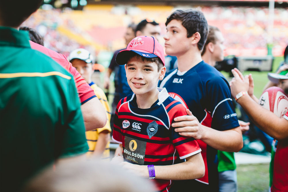 The Modified Rugby Program began at Queensland's Brothers Rugby. Photo: ARU Media