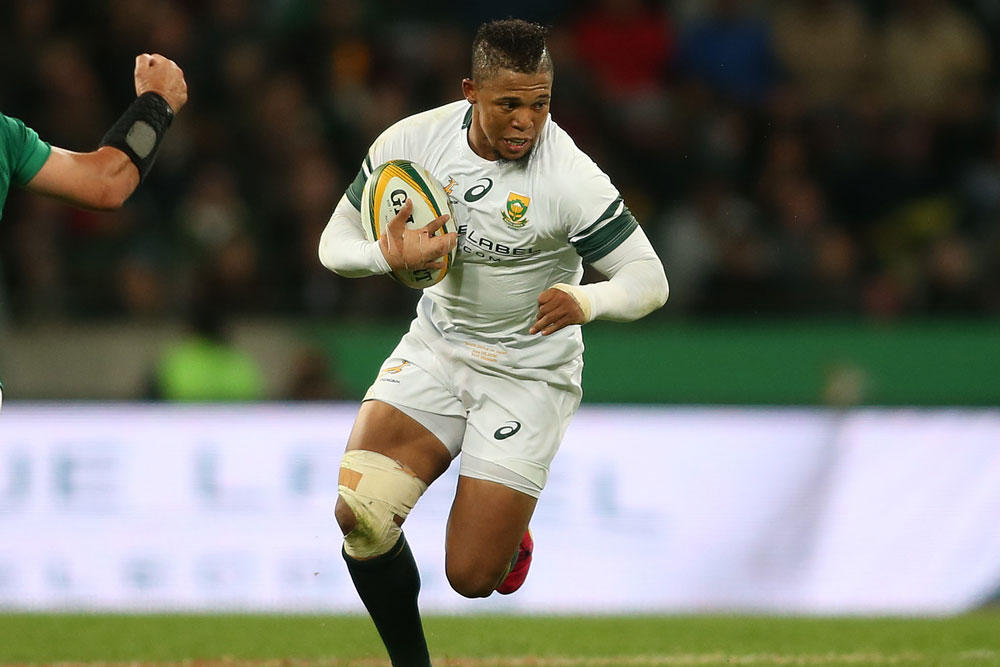 Elton Jantjies needs to improve his kicking. Photo: Getty Images