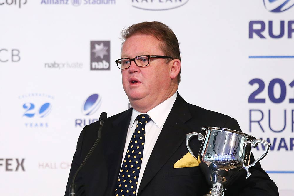 Michael Jones will stay Brumbies CEO for now. Photo: Getty Images