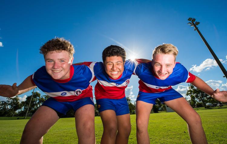 Community Rugby Posing
