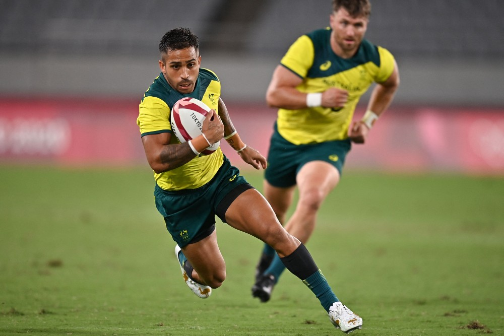 A late Maurice Longbottom try was not enough for Australia. Photo: Getty Images