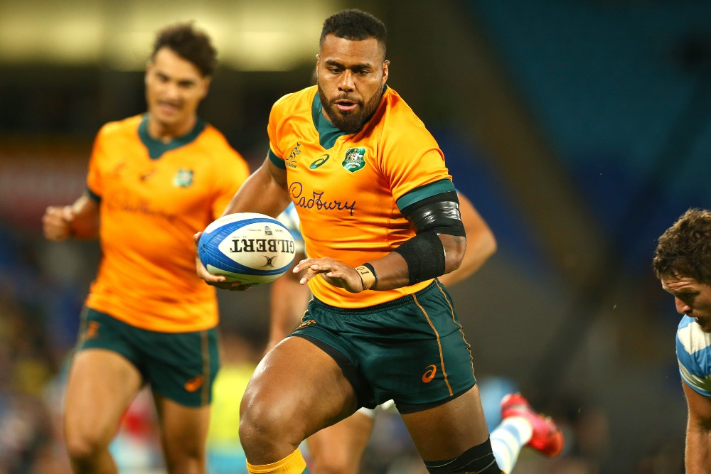 Samu Kerevi has been ruled out of Australia's Test with Japan. Photo: Getty Images