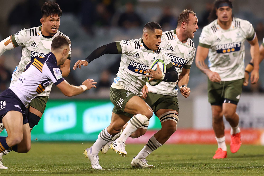Aaron Smith masterclass at GIO Stadium in Canberra. Photo: Getty Images