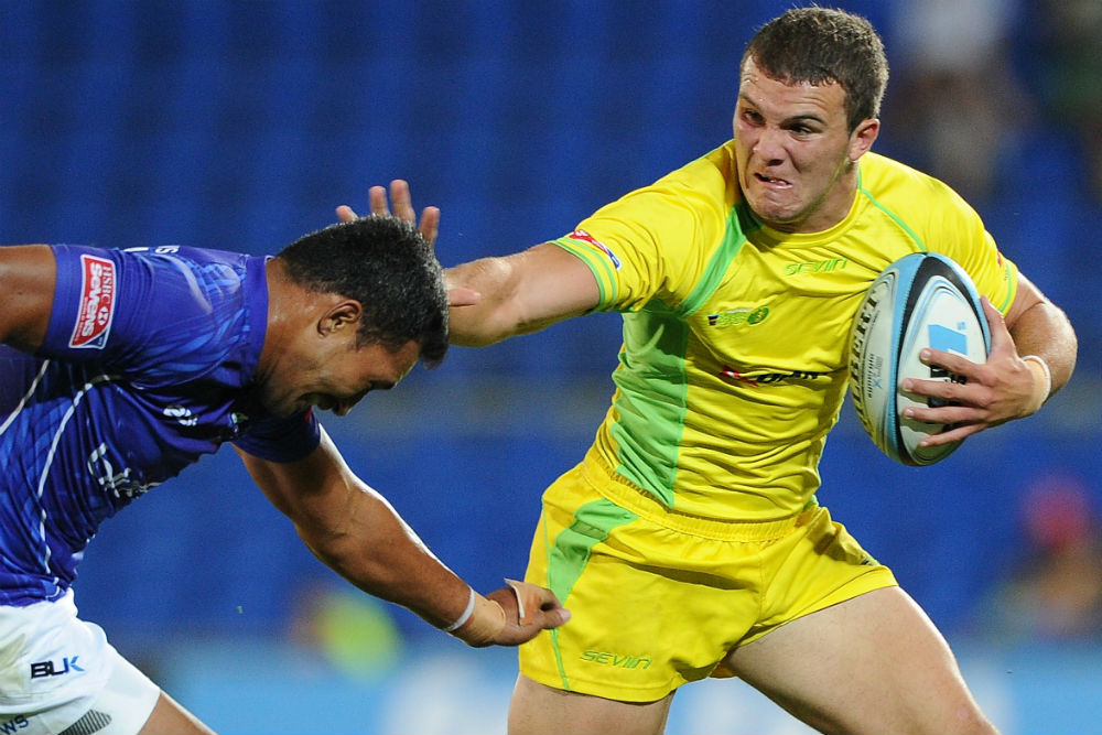 Alex Gibbon last played features in the World Series at the 2015 London Sevens. Photo: Getty Images