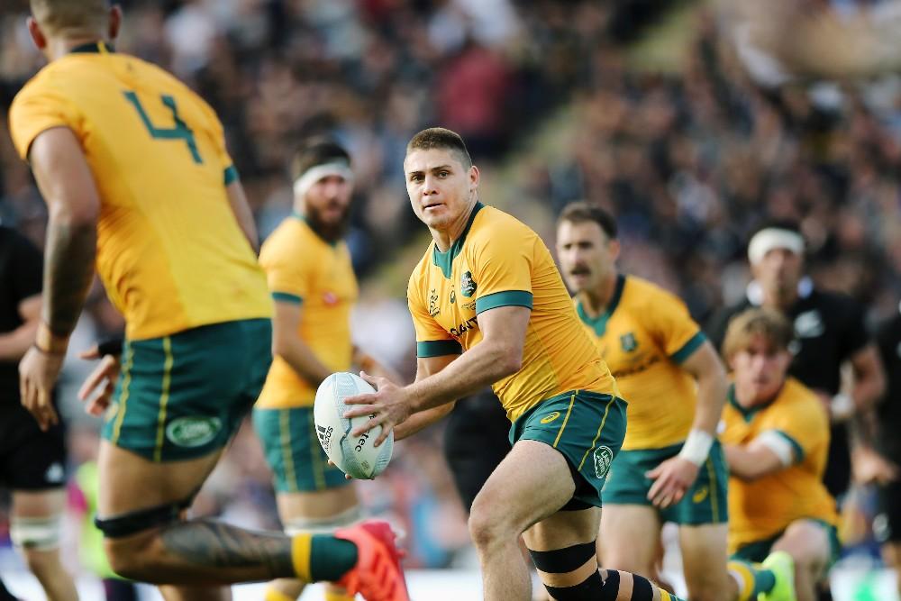 James O'Connor is back in the No.10 jersey for the Wallabies. Photo: Getty Images