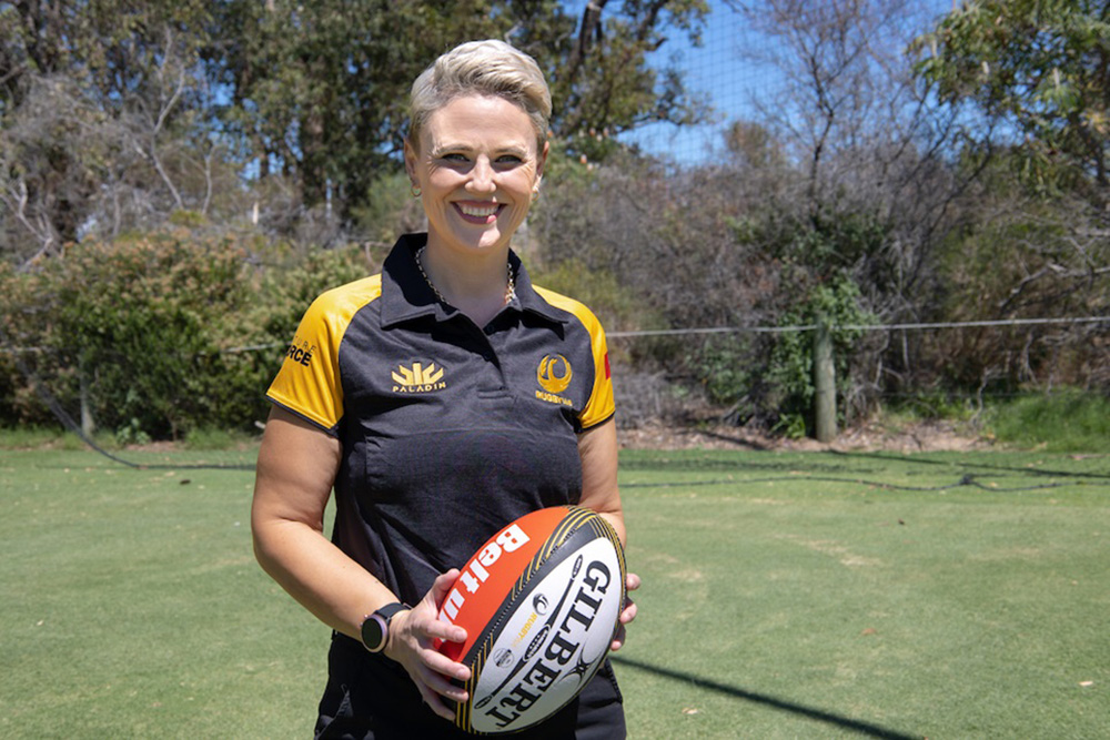 Whaanga joins the Two Blues as Premier Women's Head Coach. Photo: RugbyWA